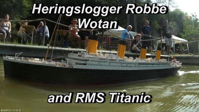 Drachen Schlepper Titanic
